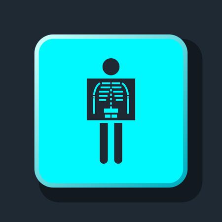 radiological: x-ray icon
