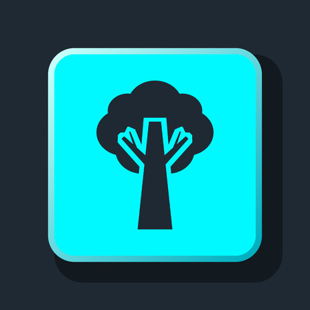 reforestaci�n: tree icon