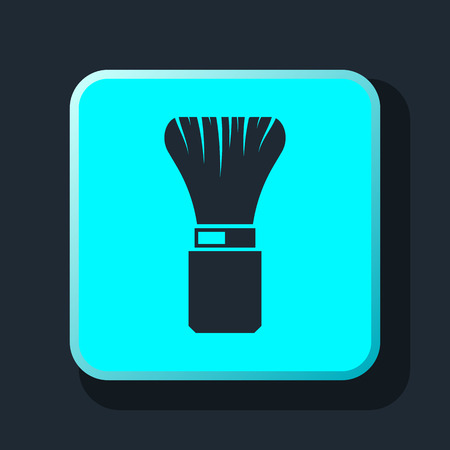 shaving brush: Shaving Brush Icon