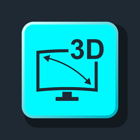 oled: 3d tv icon
