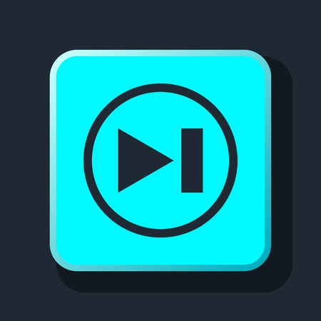 rewind: rewind media player icon Illustration