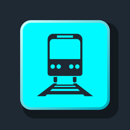 the hovercraft: train icon