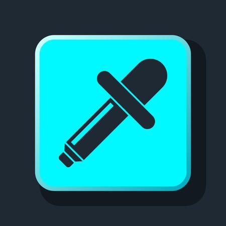 prepress: eyedropper icon Illustration