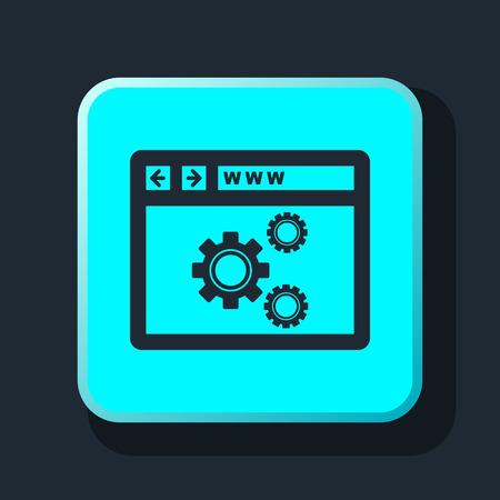 optimization: web optimization icon