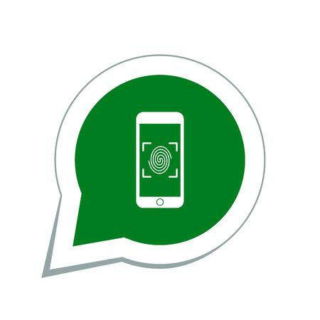 imprint unlocked phone icon