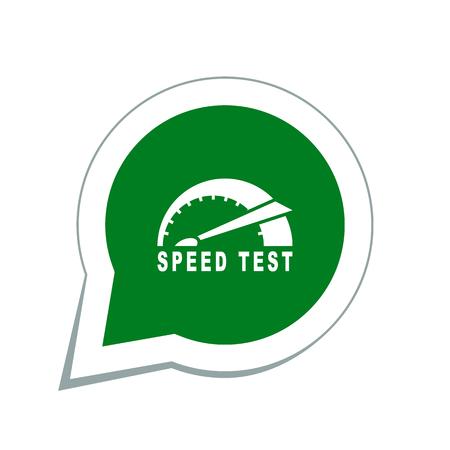 Ikona Test prędkości