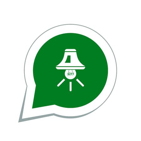 halogen: light icon Illustration