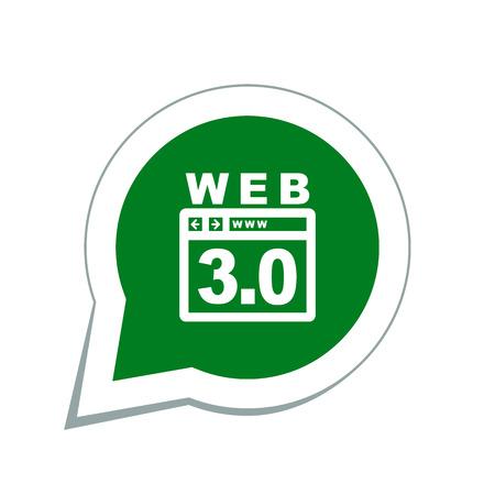 web development: web development icon Illustration