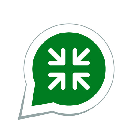 arrows change size icon Illustration