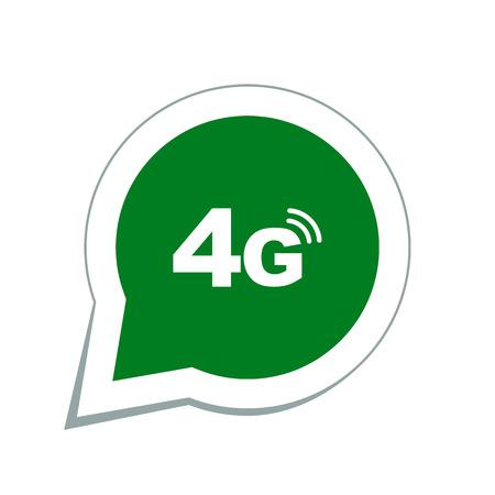 4g 모드 기술 아이콘