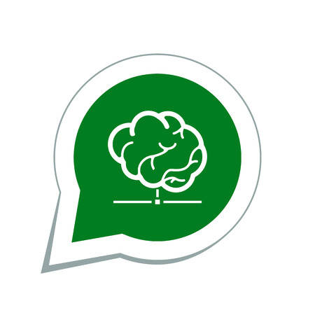 protected database: smart database icon Illustration