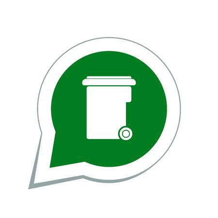 landfill: garbage icon