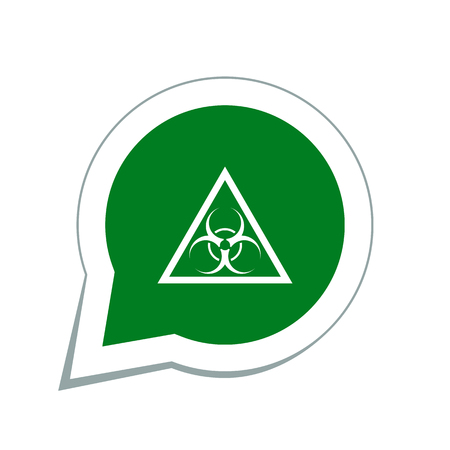 hazard: bio hazard symbol
