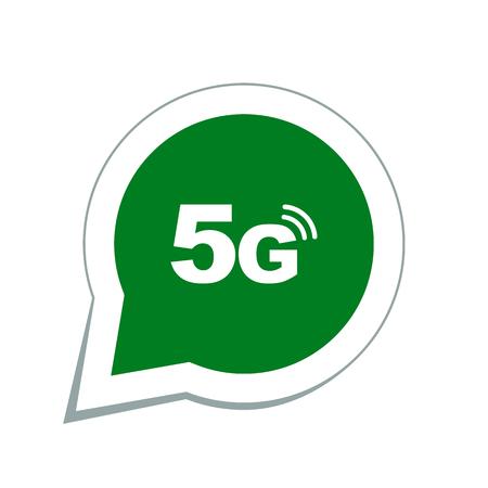 5g 모드 기술 아이콘