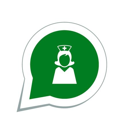 nurse station: doctor icon