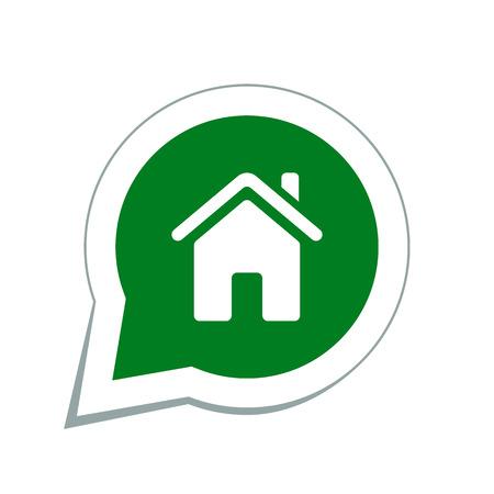 home icon Stock Illustratie