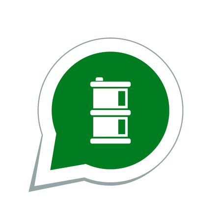 oil barrel: oil barrel icon Illustration