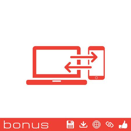 data transfer: data transfer icon