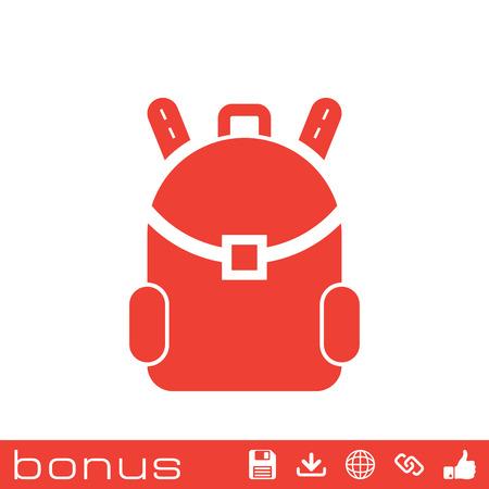 carryall: travel bag icon