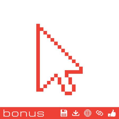cursor: pixel arrow cursor