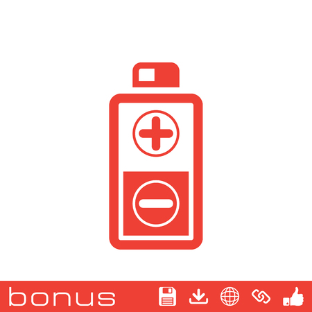 cadmium: battery icon Illustration