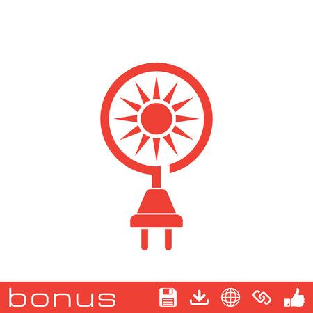 sun energy: sun energy icon