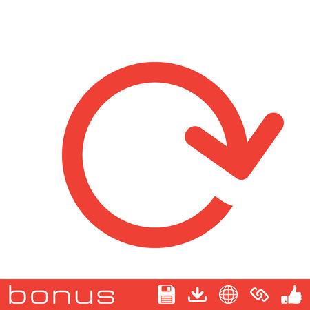 orientation marker: arrow loop icon