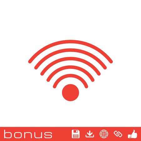wi-fi icon Illustration