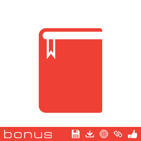 electronic publishing: book icon Illustration