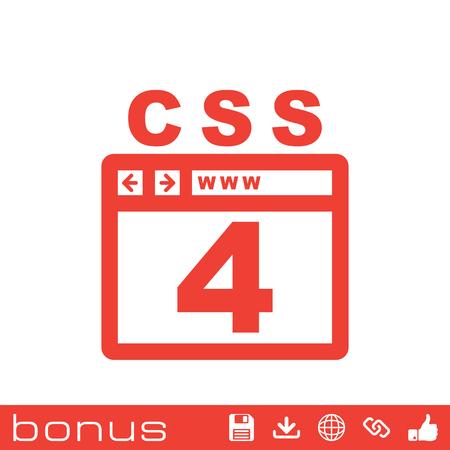 css: CSS 4 Icona