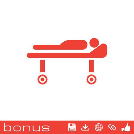 barrow: medical barrow icon