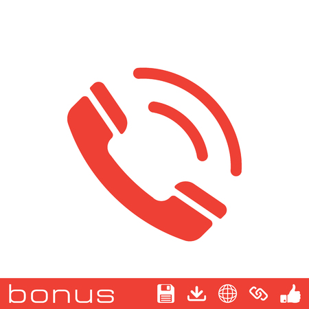 phone and call: call phone icon