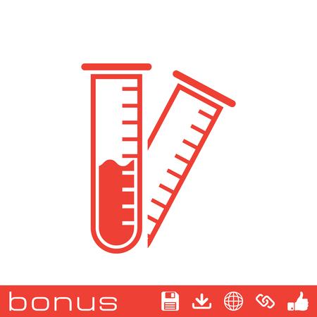 hipotesis: icono de probeta Vectores