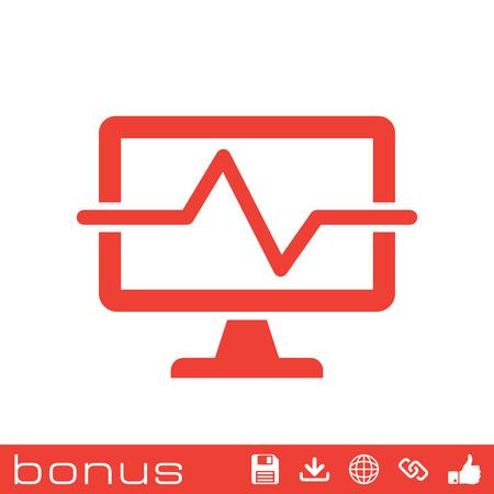diagnosing: computer diagnostics icon