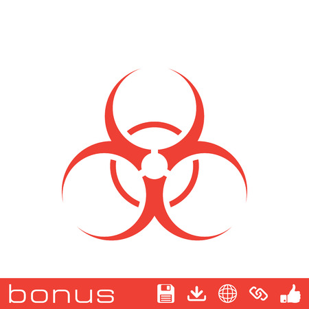 hazard: bio hazard sign Illustration