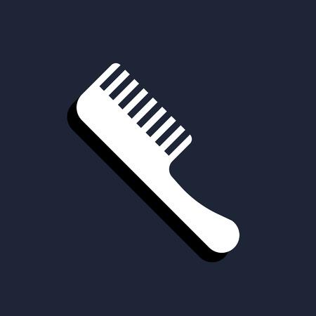 comb: barber comb icon