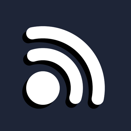 web feed: rss icon