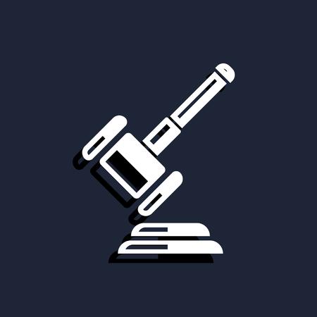 lawsuit: Hammer judge icon