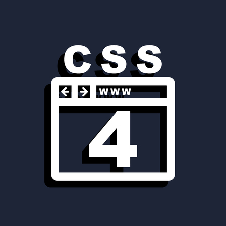 css: CSS 4 icon