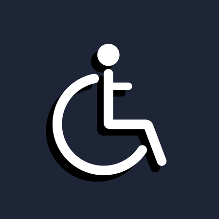 disabled sign: Disabled sign icon