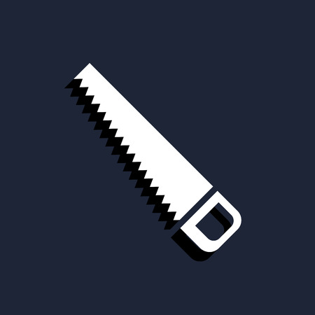 hacksaw: hacksaw icon Illustration