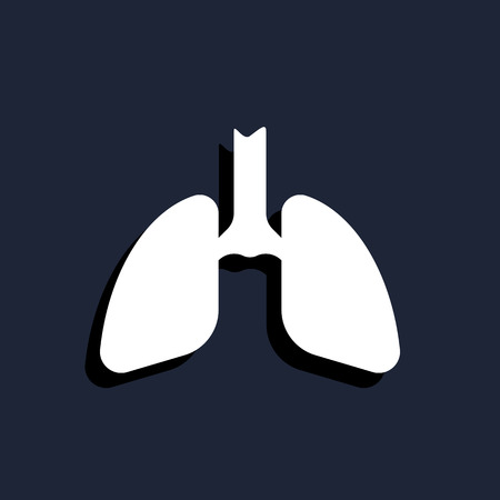 bronchial: lungs icon