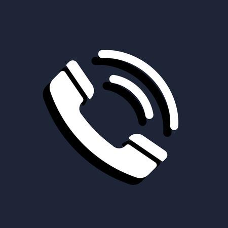 speaking tube: call phone icon
