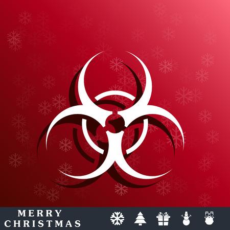 bio hazard: bio hazard sign Illustration