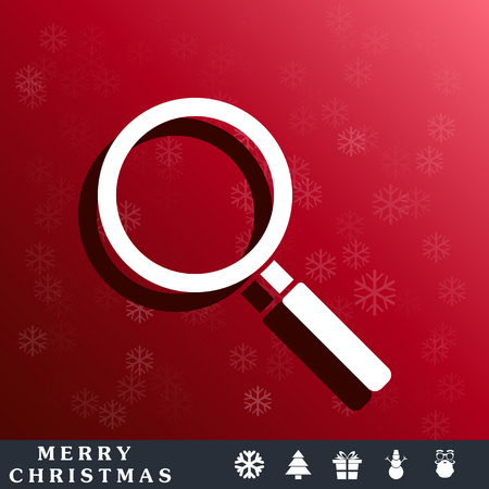 magnifying glass icon: Magnifier Glass, search icon
