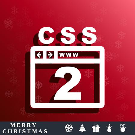 css: CSS 2 icon