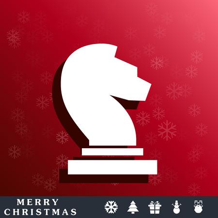 caballo de ajedrez: icono de caballo de ajedrez