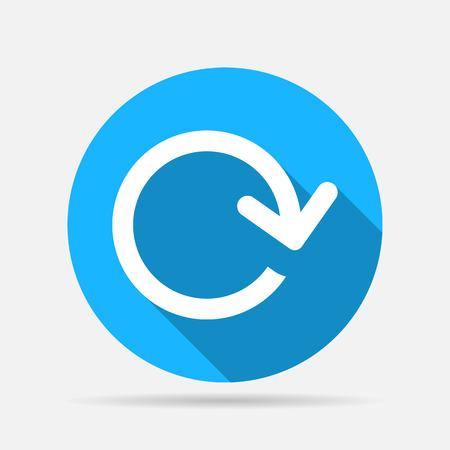 bucle: flecha icono de bucle
