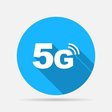 5g mode technology icon Illustration