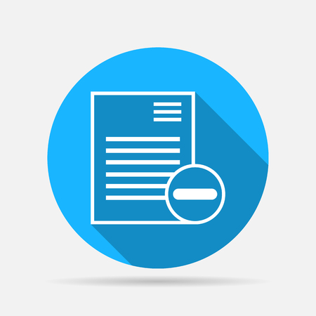newspaper stack: remove document icon
